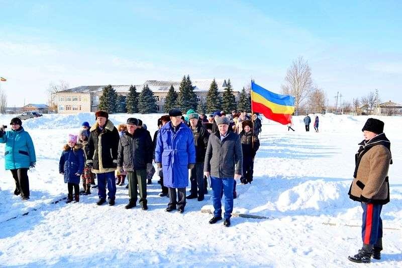Жители станицы Березовской почтили память героев Сталинграда