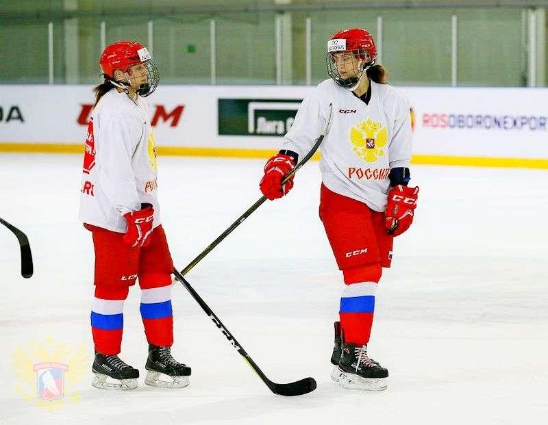 Россиянки сыграли выставочный матч