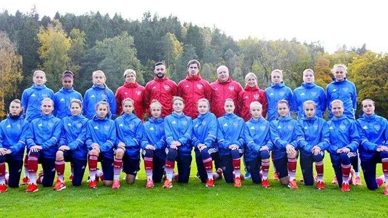 Женская юниорская сборная России по футболу (игроки до 17 лет)