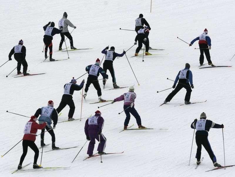 Волжан приглашают на массовый лыжный забег