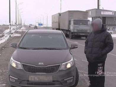Под Волгоградом нашли машину, угнанную в Москве