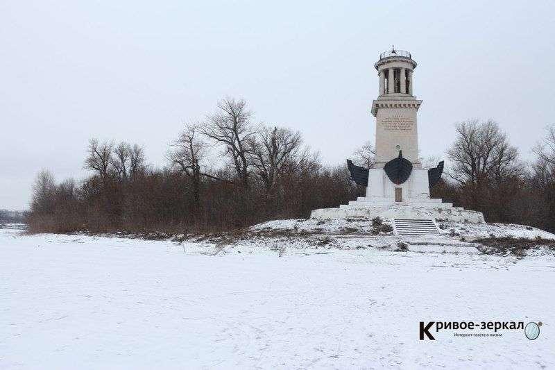 Лед показал изъяны маяка в Красноармейском районе