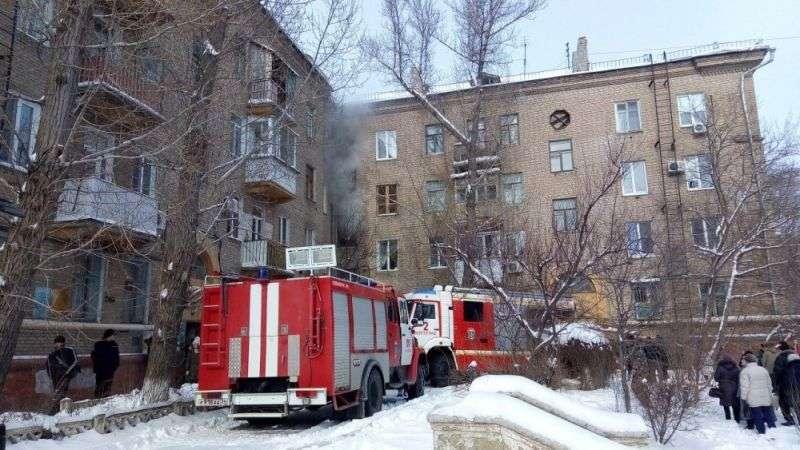 При пожаре в Краснооктябрьском районе погибли люди