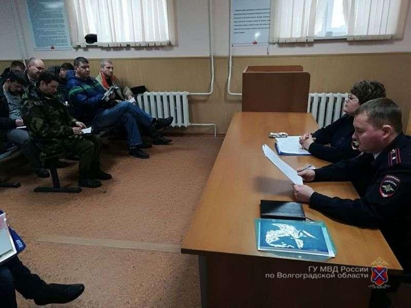 В Волгограде полицейские и казаки обсудили меры безопасности в период проведения ЧМ-2018