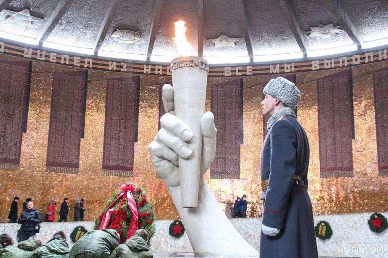 Волгоград продолжает праздновать юбилей Сталинградской победы
