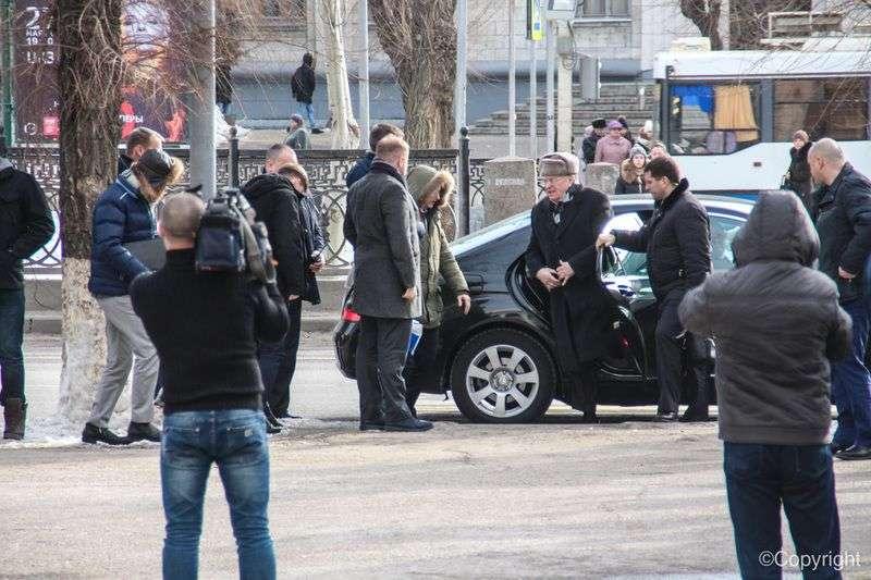 Жириновский прибыл в университет Волгограда