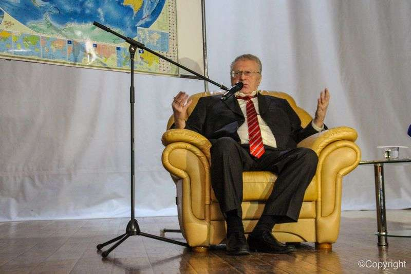 В Волгограде Жириновский выступил перед студентами