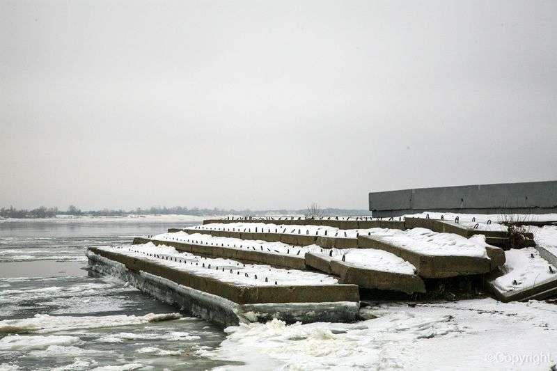 При реконструкции набережной в Волгограде едва не погиб подросток