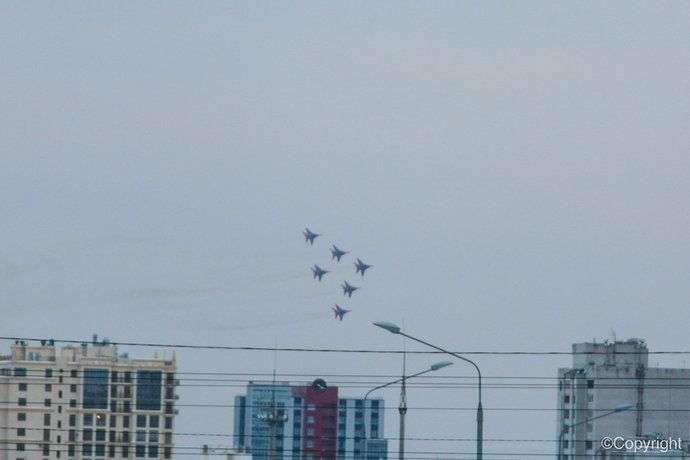 Время авиашоу «Стрижей» в Волгограде изменилось
