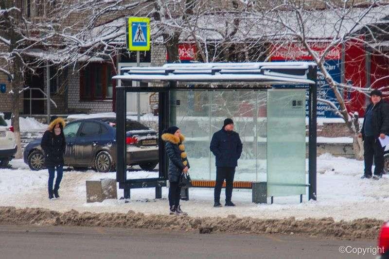 На улице Рокоссовского перенесли остановку