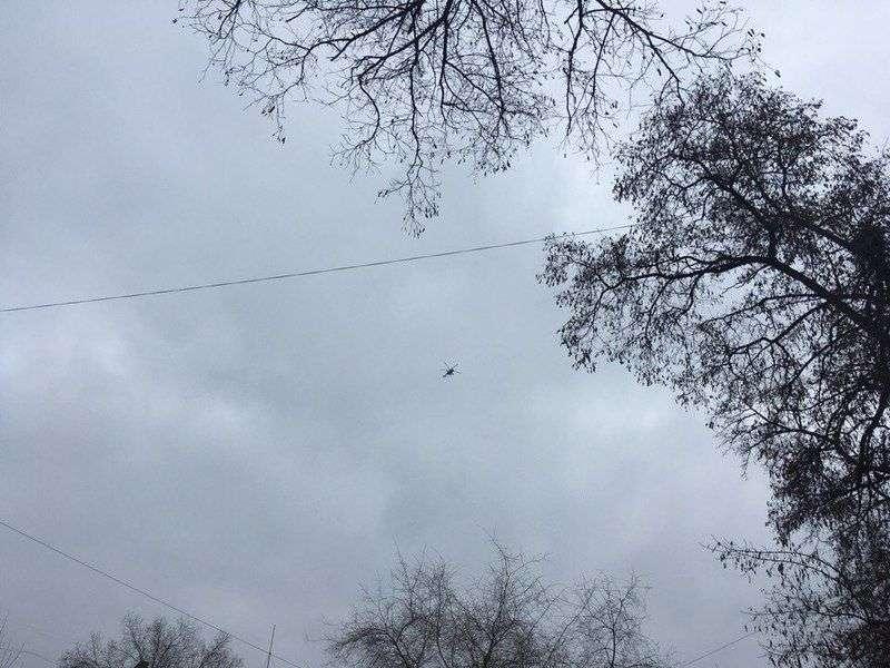 Над Волгоградом кружит поющий вертолет