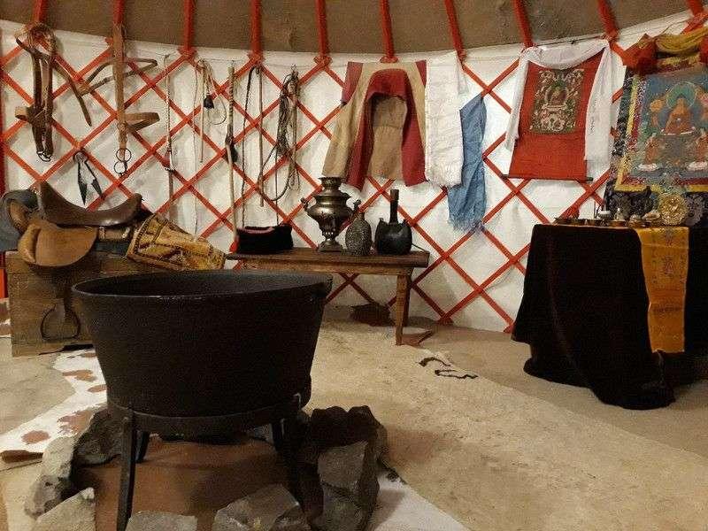 Волгоградцев приглашают посетить «Калмыцкую кибитку»