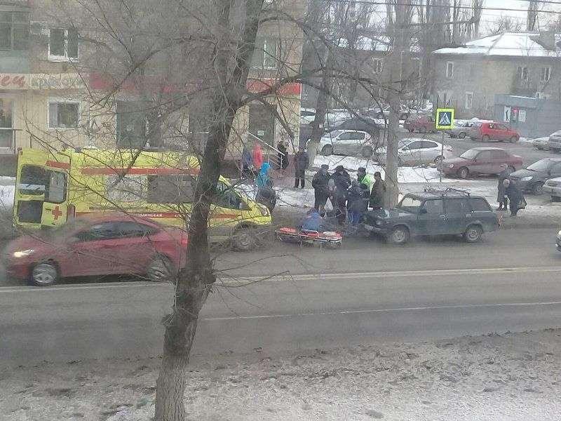 Водитель «четверки»  на скорости сбил пешехода. ФОТО