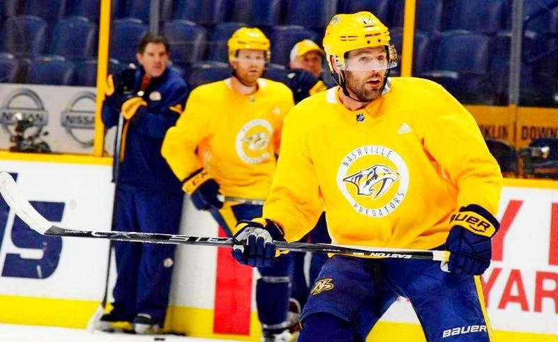 Майк Фишер вернулся в НХЛ
