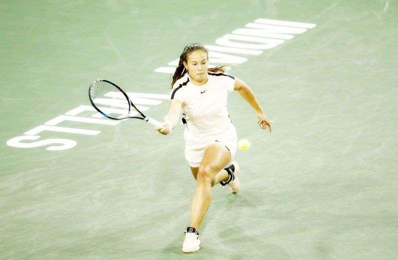 Дарья Касаткина вышла в финал «Indian Wells Masters». Видео