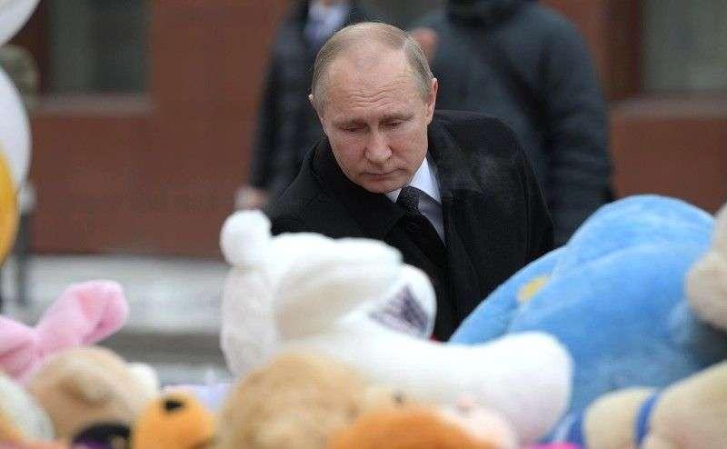 """Владимир Путин: """"Даже не сомневайтесь, все виновные будут наказаны"""""""