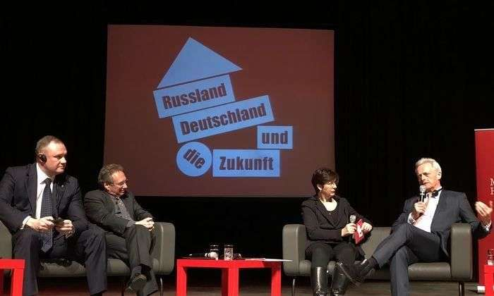 Глава Волгограда выступил экспертом на конференции в Берлине