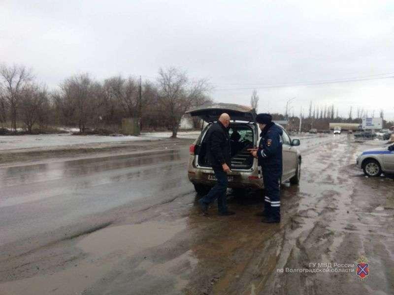В Кировском районе полицейские оштрафовали 50 водителей