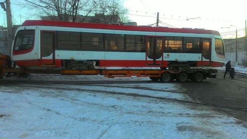 Новые трамваи из Челябинска прибыли в Волгоград