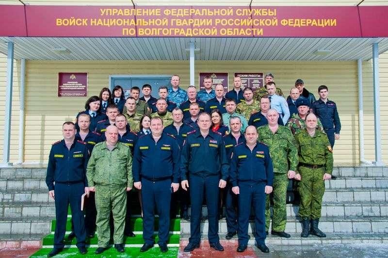 Росгвардия Волгоградской области сменила руководителя