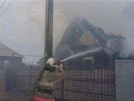В Суровикино заживо сгорел неосторожный курильщик