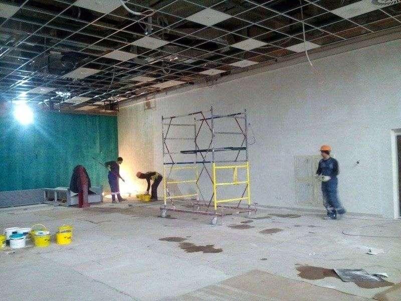 В новом терминале B начались отделочные работы
