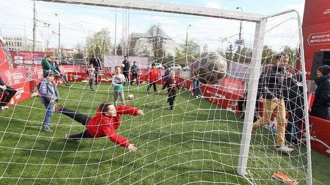 Парк футбола Чемпионата мира будет развернут в Волгограде 7-8 апреля