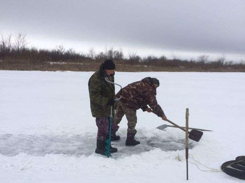 В природном парке «Донской» спасают рыбу