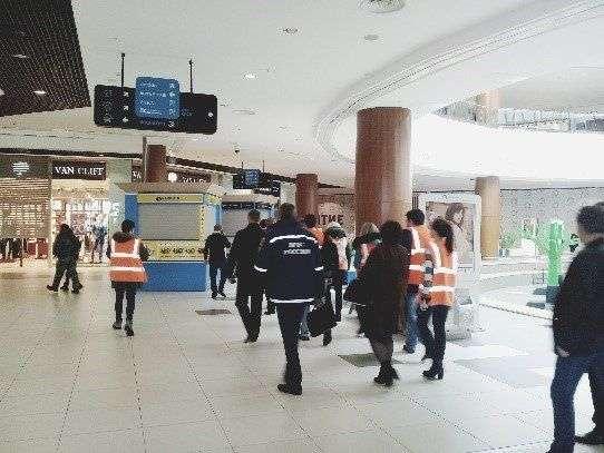 В Волгограде в ТРЦ «Акварель» эвакуировали людей