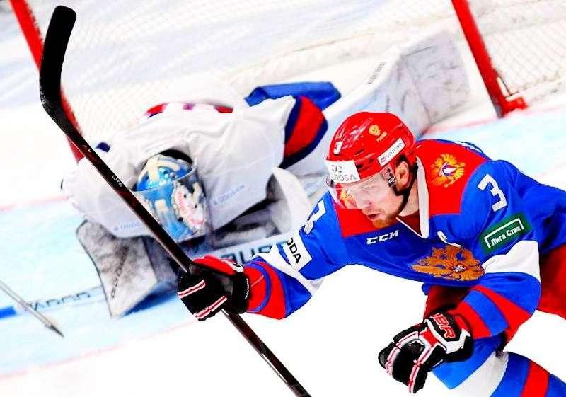 Россияне обыграли Норвегию. Видео
