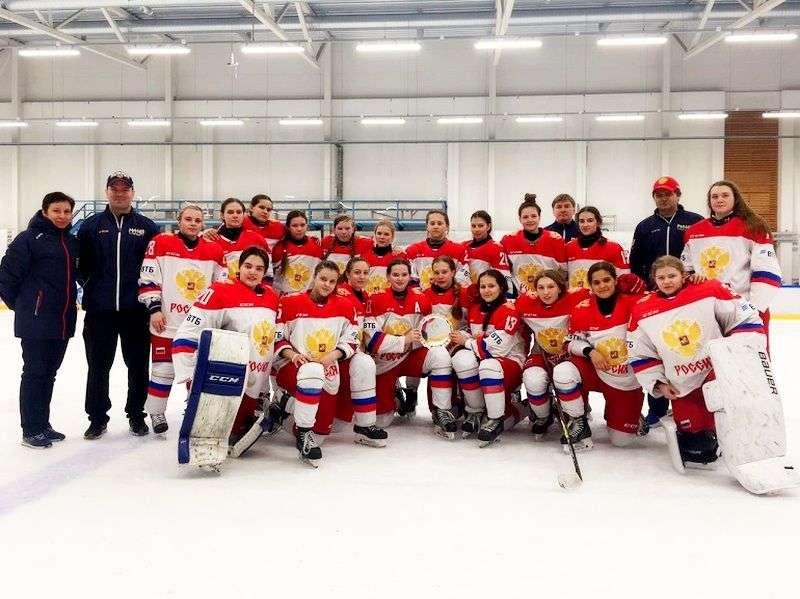 Молодые россиянки выиграли бронзу Кубка Европы