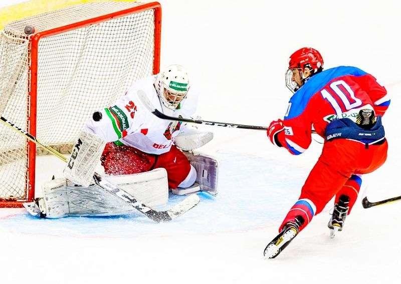 Россия U-18 сыграла два выставочных матча. Видео