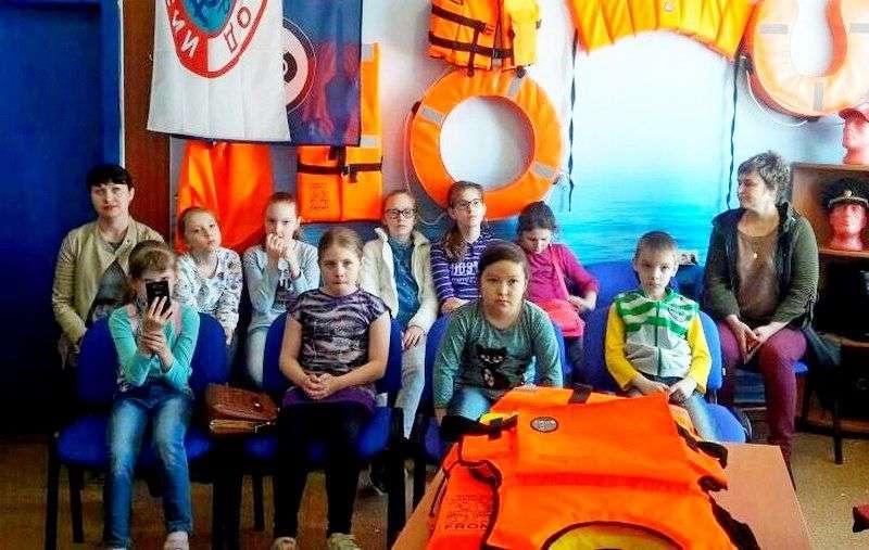 Юных волжан познакомили с музеем спасателей