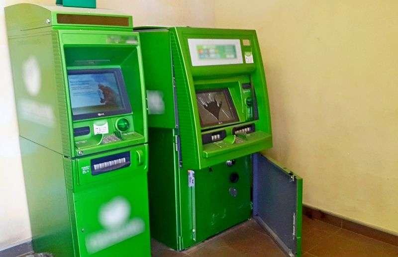 Взломал банкомат – попался полиции. Видео