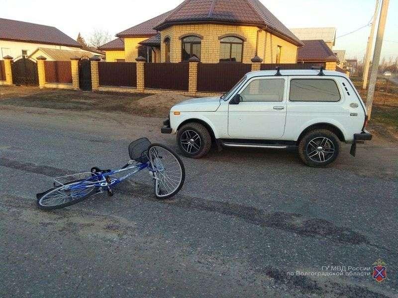 Под Волгоградом водитель на Ниве сбил велосипедиста
