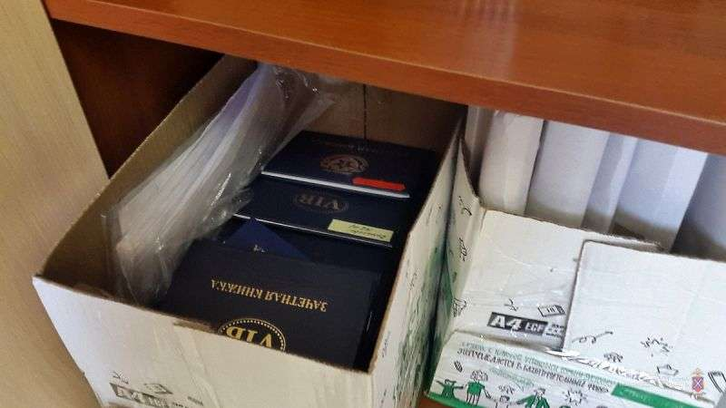 В Волгоградский институт бизнеса нагрянули силовики