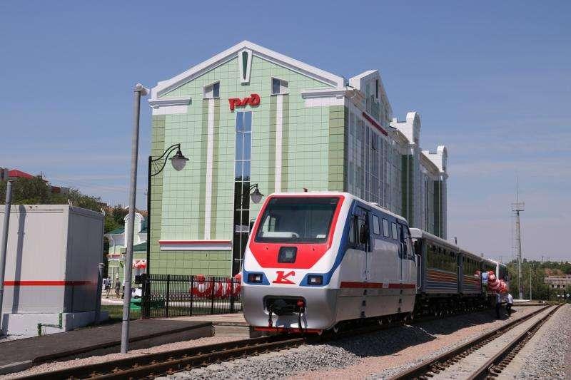 Детская железная дорога начнет работу с 1 мая