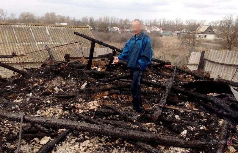 В Даниловском районе мужчина из мести поджег сенник родственницы