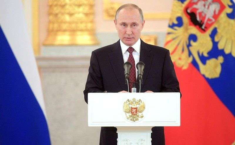 Владимир Путин осудил нападение США на Сирию