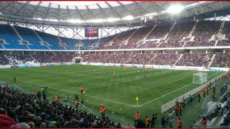 РФС снял видеоролик об открытии волгоградского стадиона