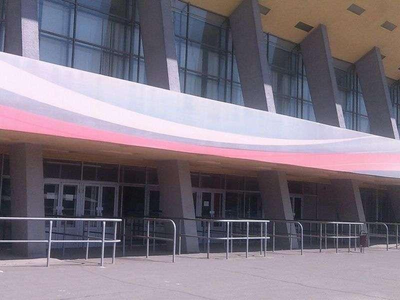 Работу Дворца спорта приостановят из-за пожароопасности