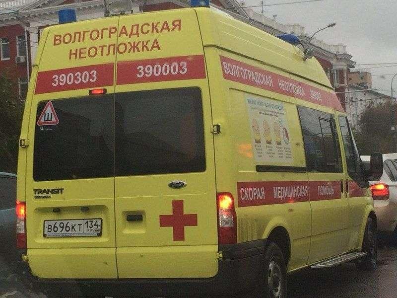 В Волгограде легковушка сбила велосипедистку