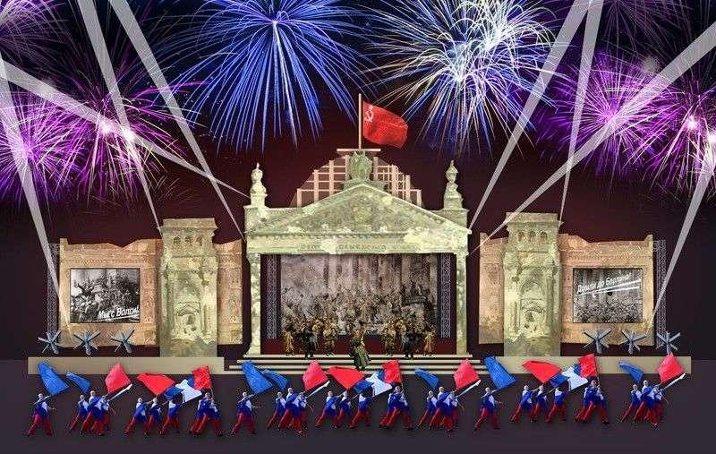 Стало известно, как к 9 мая оформят сцену на набережной Волгограда