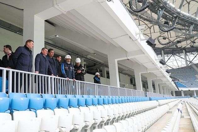 Бочаров считает, что Волгоград готов к тестовому матчу