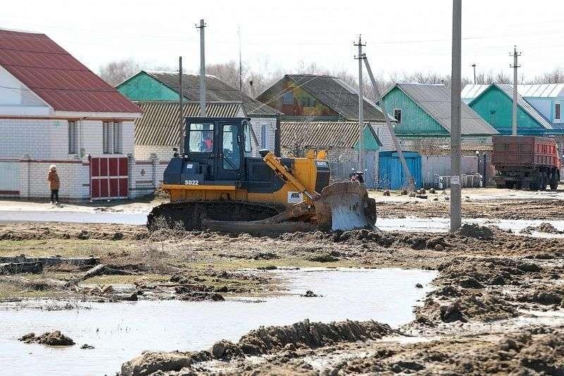 В Волгоградской области подтоплены четыре населенных пункта