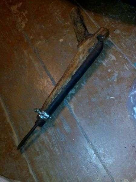 У жителя Клетского района полицейские изъяли самодельный пистолет