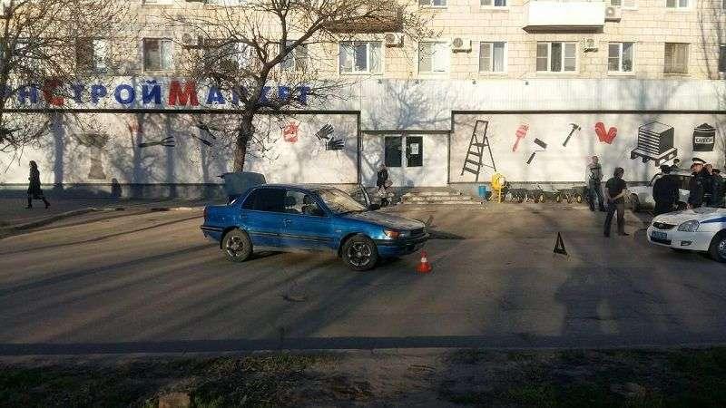 На юге Волгограда иномарка сбила двухлетнего ребенка