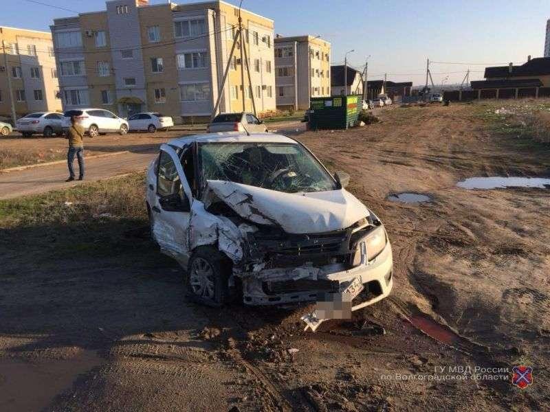 В Волгограде в жуткой аварии пострадали три человека