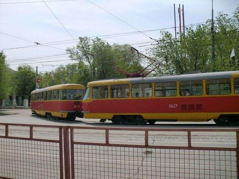 В Волжском остановят трамваи