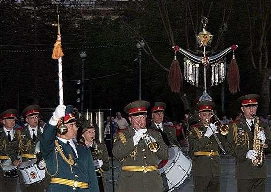 Первая репетиция парада ко Дню Победы пройдет 3 мая